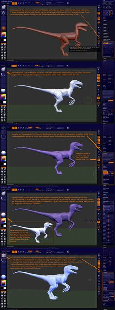 Lion-Arts presents: Make a Jurassic Park inspired Velociraptor in ZBrush