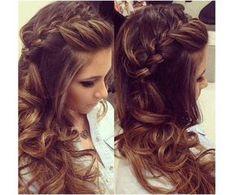 Fryzury na wesele - urocze upięcia włosów z warkoczem
