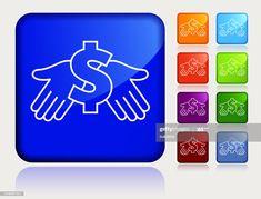 Money Dollar Sign In Hand Icon Illustration #Ad, , #ad, #Sign, #Dollar, #Money, #Illustration Hands Icon, Dollar Money, Dollar Sign, Cool Designs, Ads, Illustration, Illustrations