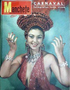 REVISTA MANCHETE - CAPA - CARNAVAL 1959