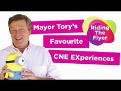 """""""Mayor Tory's Favourite CNE Experiences – Riding the Flyer!"""" 