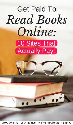 Get Paid To Read Books Online: 10 Sites That Actually Pay! If you love reading, you can actually earn money doing something you enjoy. Here are some of the best sites and opportunities that will help you get paid to read books online. Home Based Work, Legit Work From Home, Legitimate Work From Home, Work From Home Jobs, Ways To Earn Money, Earn Money From Home, Earn Money Online, Way To Make Money, Online Income