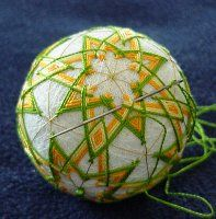 great tutorial on making Japanese Temari balls--such beautiful work.