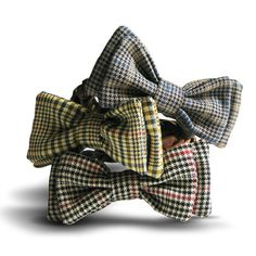 What We're Obsessed With: Best in Park. Adorable bowtie collars for little boy dogs!