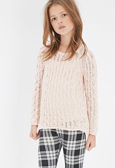 Loose Cable Knit Sweater (Kids) | FOREVER21 girls | #f21kids