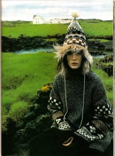 Urban Outfitters - Blog - Trend: Cable Knit, Fair Isle and Intarsia Sweaters (no image source given).