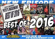 Pete Ramon Cheezeburger and Dimitrios hit the roundtable to tell you all about the best comics they read in 2016! What books were absolutely MUST-READ's for the boys? Did you check out all of them? Did you miss any? Hit the play button and find out!  In this episode:  00:01:31 - Huck 00:04:55 - Rowan's Ruin 00:09:25 - Chew 00:17:13 - The Spire 00:23:39 - Blood & Dust: The Life & Undeath of Judd Glenny 00:26:18 - Honorable Mentions 00:31:12 - Outtakes  Watch: http://ift.tt/2jRP4Xi…