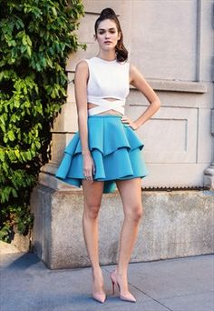 Marina Tie - Up Top - White