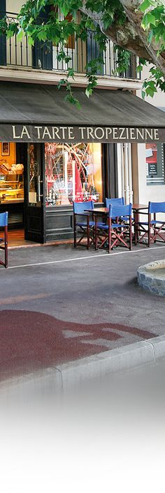 Best breakfast spot in town, just opposite the Place des Lices. Be early or wait forever! 83990 Saint-Tropez