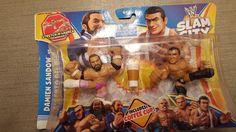 Mattel Slam City Damien Sandow vs Alberto Del Rio Toy Figures Sealed #Mattel