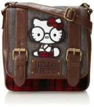 Hello Kitty Nerd Preppy Backpack. Adult backpack