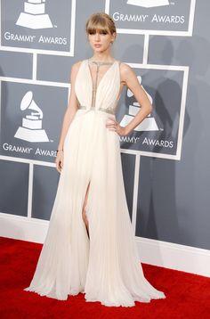Taylor Swift in J. Mendel #Grammys