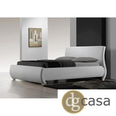 DG Casa Montecito White King-size Bed | Overstock.com Shopping - Great Deals on DG Casa Beds