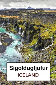 Sigoldugljufur is a little known canyon in the heart of the central highlands of Iceland. Only accessible by 4WD and knowling the location it is worth the detour! - Click to open the guide with many photos and detailed information to plan your visit