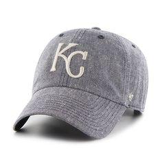 more photos c3018 7809f Kansas City Royals Strike Through Clean Up Navy 47 Brand Adjustable Hat  Kansas City Royals Hat