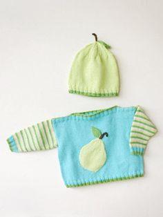 Spud & Chloë — Patterns » Baby Bartlett Set