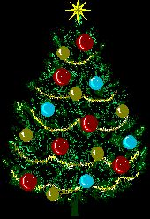 A big and bright lights tree. Animated Christmas Tree, Merry Christmas Gif, Christmas Scenes, Christmas Clipart, Merry Christmas And Happy New Year, Christmas Pictures, Christmas Art, Christmas Greetings, Handmade Christmas