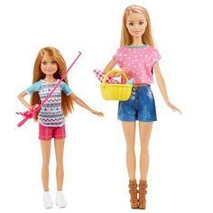 Barbie Camping Fun Dolls ; Accessories, Multicolor