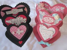 His & Hers Valentine Cards by attherookery - Cards and Paper Crafts at Splitcoaststampers