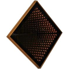 1stdibs | OpArt Infinity Mirror Light Box