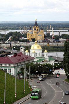 Nizhny Novgorod, Russia Нижний Новгород (г. Горький). История, современность, информация