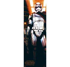 Star Wars: Episode 7 Tür Poster Captain Phasma. Hier bei www.closeup.de