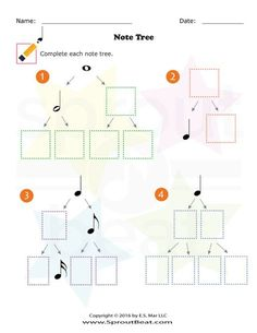 Dividing Note Value – SproutBeat – Musik Learning Music Notes, Music Math, Preschool Music, Music Activities, Music Classroom, Music Education, Elementary Music Lessons, Music Lessons For Kids, Music For Kids