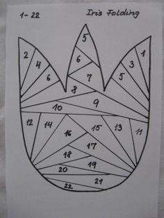 Tulipán - Iris Folding, koláž :: M o j e v ý t v a r k a