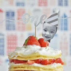 1歳のお誕生日に。オリジナルケーキトッパーの作り方【無料テンプレートつき】<br> by ARCH DAYS編集部