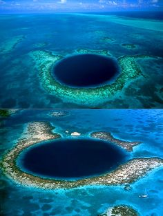 Mind-Blowing Look at the Great Blue Hole in Belize, the World's Largest Sea-Hole - TechEBlog