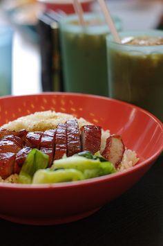 had this every week in HK ;] 叉燒飯 (Char Siu Fan) - Chinese BBQ Pork and Rice <3 via Fuck Yeah Hong Kong Food