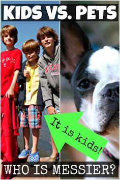 Kids ARE Messier Than Pets! (ad) #carpetstainculprit