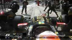 F1 Pit Stop Challenge At The Austrian Grand Prix (VIDEO)