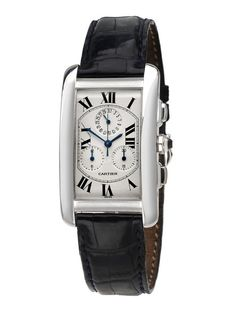 Unisex Cartier Tank Americaine Watch by Estate Watches on Gilt.com