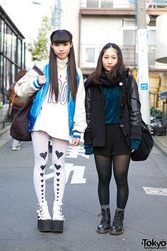 Kaede (left) & Hinako (right) - both 17 years old & students | 16 January 2014 |