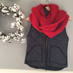 """NEW -- J Crew Chunky Ribbed Infinity Scarf NEW super soft 100% acrylic infinity scarf from J Crew Factory. 14"""" wide by approx 68"""" circumference makes for lots of luscious layers.  One Size fits most. J crew factory J. Crew Accessories Scarves & Wraps"""