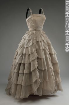 Dress Jacques Griffe, 1950 The McCord Museum