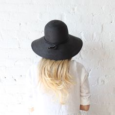 Brookes Boswell Pippin Hat Black