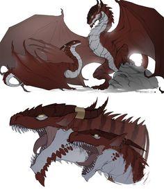 Dragon Twins - Dragon Forms by White-Mantis on DeviantArt