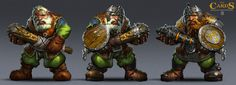 Dwarf-warrior, Petr Passek on ArtStation at https://www.artstation.com/artwork/dwarf-peasants