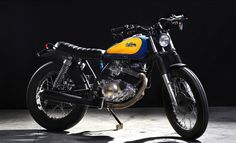 Yamaha SR250 by Cafe Racer Dreams