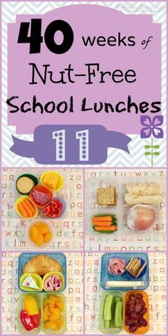 Week 11 of 40 Weeks of Kids School Lunches - ideas for packing your kid's lunch StuffedSuitcase.com