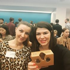 "An awesome Virtual Reality pic! Attending ""VR in Immercive Storytelling"" #NYDNLAB with @mitetyana via  @dailynewslab #marketing #storytelling #journalism #socialmedia #event #VRvideo #virtualreality by kseniantn check us out: http://bit.ly/1KyLetq"