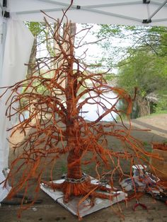 In the works Twisted Tree, Bonsai Styles, Wire Trees, Art Forms, Plant Hanger, Sculpture, Floral, Nature, Plants