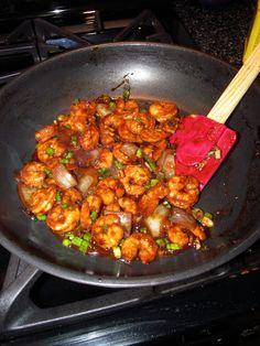 Kung Pao Shrimp {PF Changs Copycat} Recipe on Yummly
