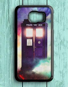 Police Box Doctor Who Samsung Galaxy S6 Case