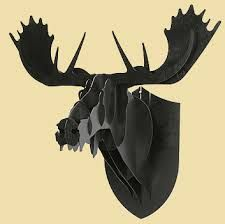 modern moose head - Google Search