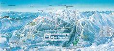 panoramique-Villard de Lans- Corrençon en Vercors Plans, Mount Everest, Skiing, Europe, Snow, France, Mountains, Travel, Outdoor