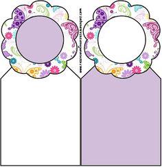 Fundo de Borboletas Coloridas – Kit Completo com molduras para convites, rótulos para guloseimas, lembrancinhas e imagens! |Fazendo a Nossa Festa