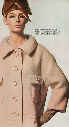 Jean Shrimpton fotografado por David Bailey para a Vogue UK setembro 1964 (graças a Jane Davis)